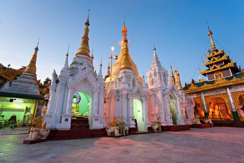 Shwedagon Paya, Yangoon, Myanmar. immagine stock