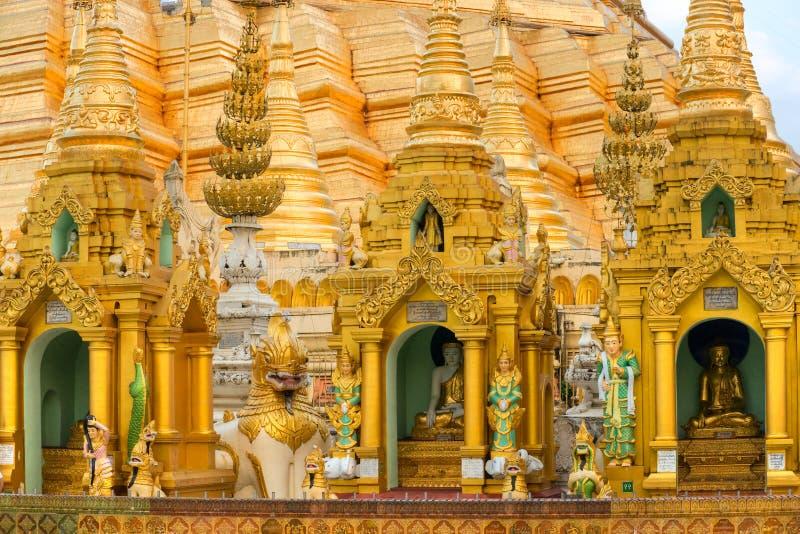 Shwedagon Paya, Yangoon, Myanmar. fotografia stock
