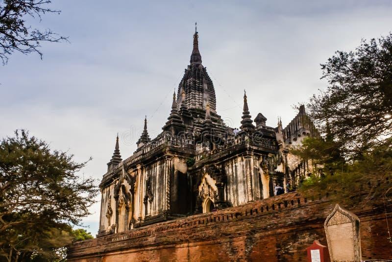 Shwegu Gyi Phaya, Bagan viejo, Myanmar imagen de archivo libre de regalías