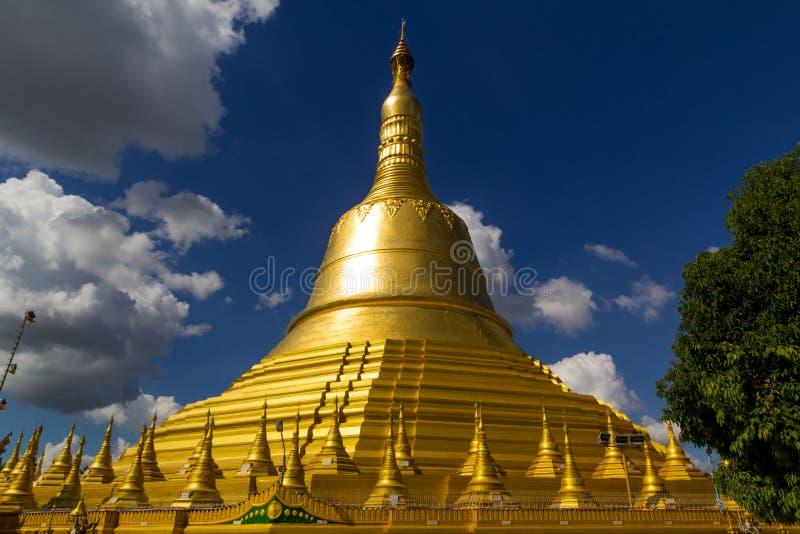 Shwemawdaw Pagoda royaltyfri foto