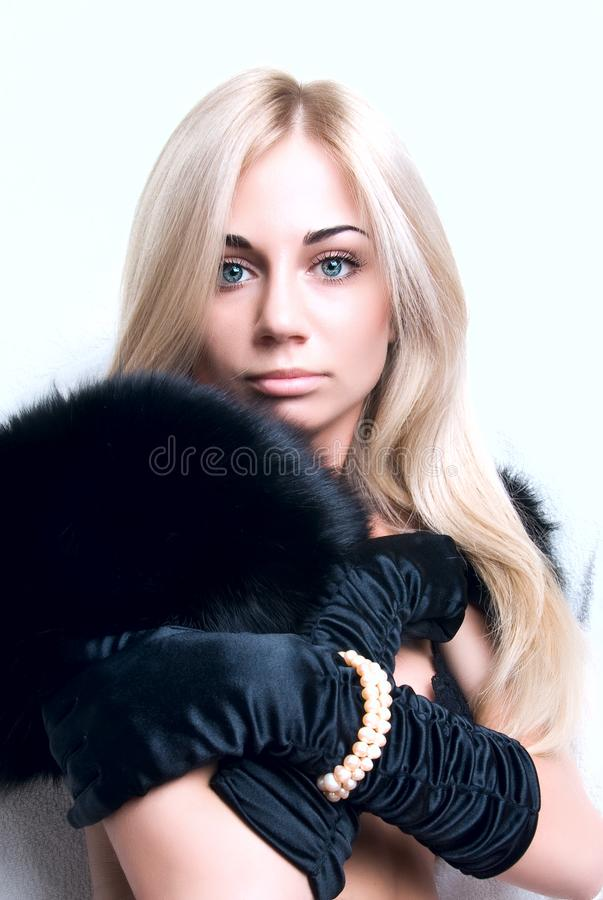 Download Shy girl stock photo. Image of miss, close, accessories - 6839042