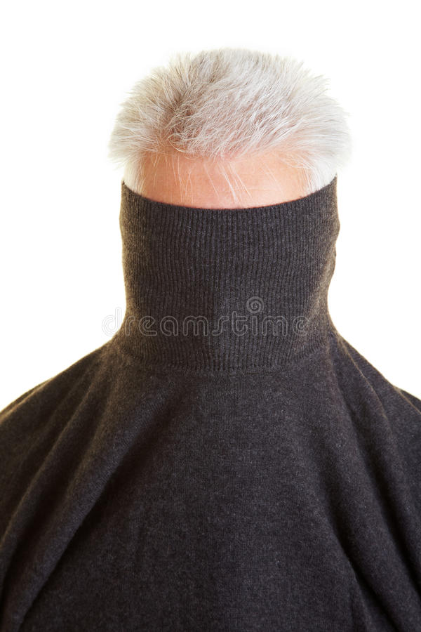 Download Shy Man Hiding Royalty Free Stock Images - Image: 12837429