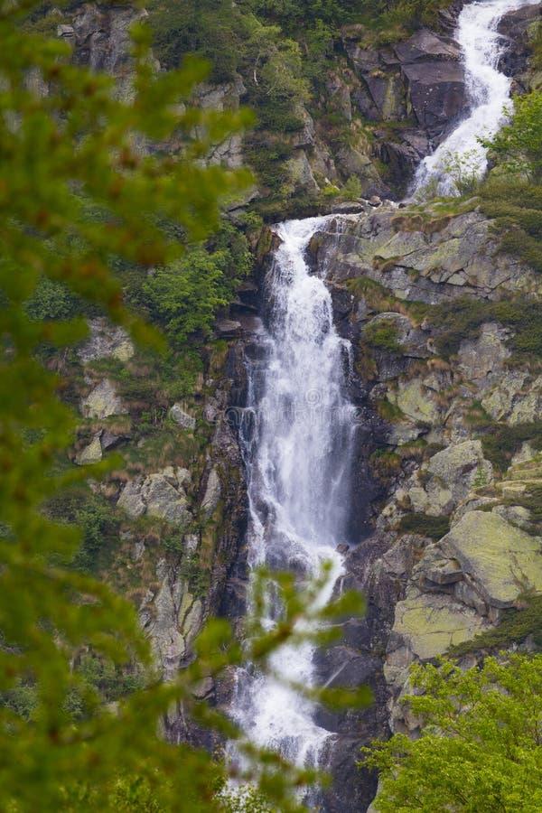 Shy waterfall stock photos
