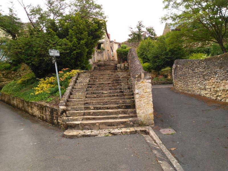 Siècle de l'escalier XI image stock
