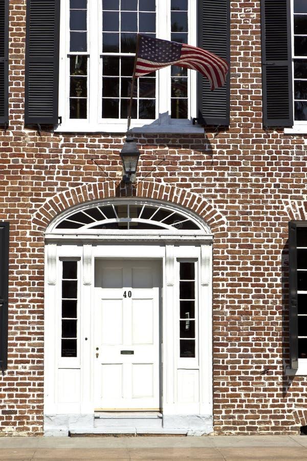 Siège social de base de Charleston Historic image stock