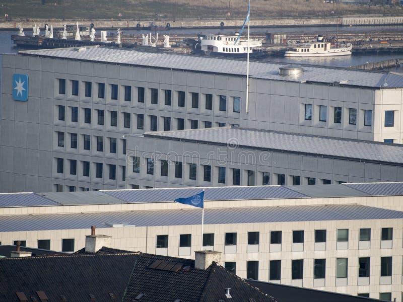 Siège social de Maersk, Copenhague image stock