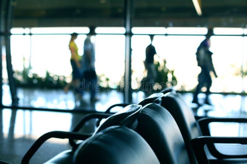 Sièges d'aéroport images libres de droits