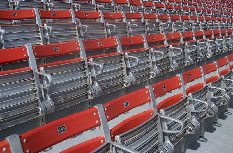 Sièges De Stade Image libre de droits