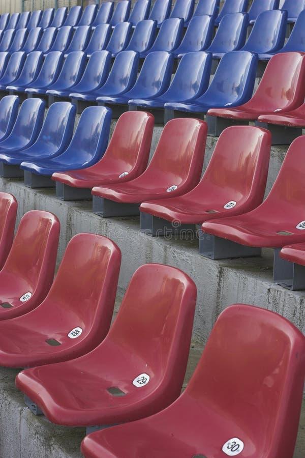 Sièges de stade photos stock