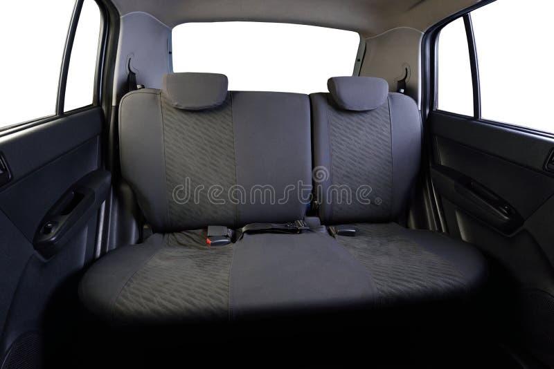 Sièges de voiture arrières de gris photos libres de droits