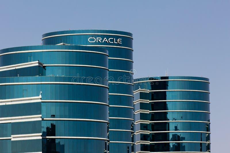 Sièges sociaux d'entreprise d'Oracle image libre de droits