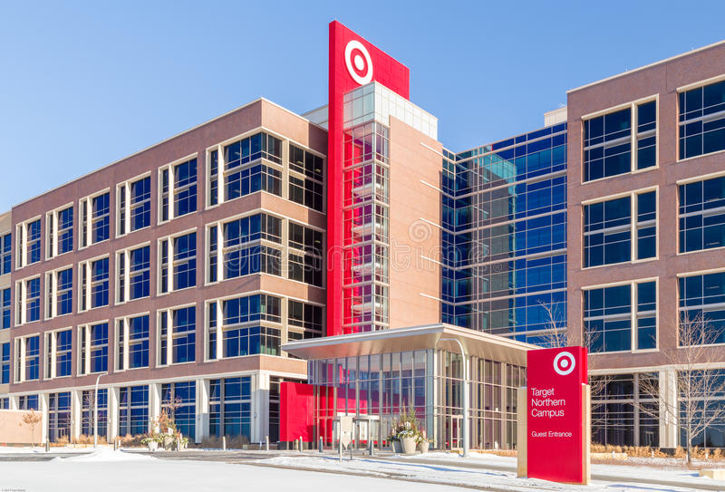 Sièges sociaux d'entreprise de Target Corporation photos stock