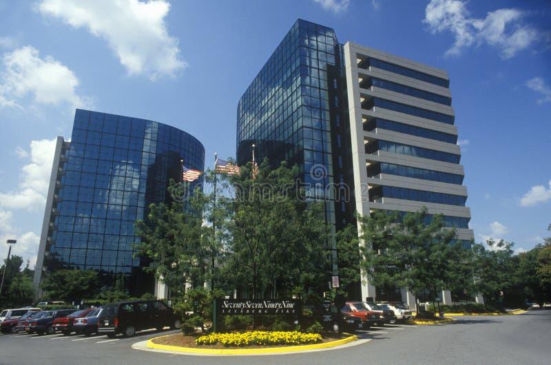 Sièges sociaux d'entreprise de Tyson, le comté de Fairfax, VA images stock