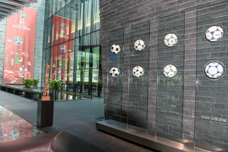 Sièges sociaux de la FIFA à Zurich sur la Suisse photos libres de droits
