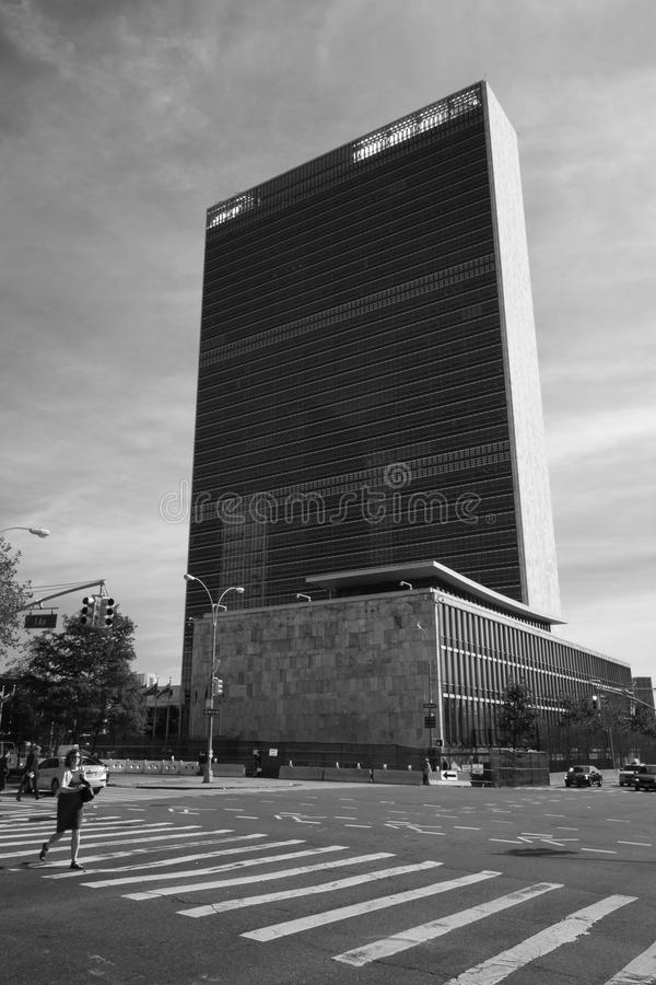 Sièges sociaux des Nations Unies photographie stock