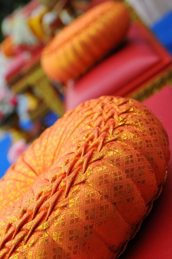 Sièges thaïlandais de mariage images libres de droits