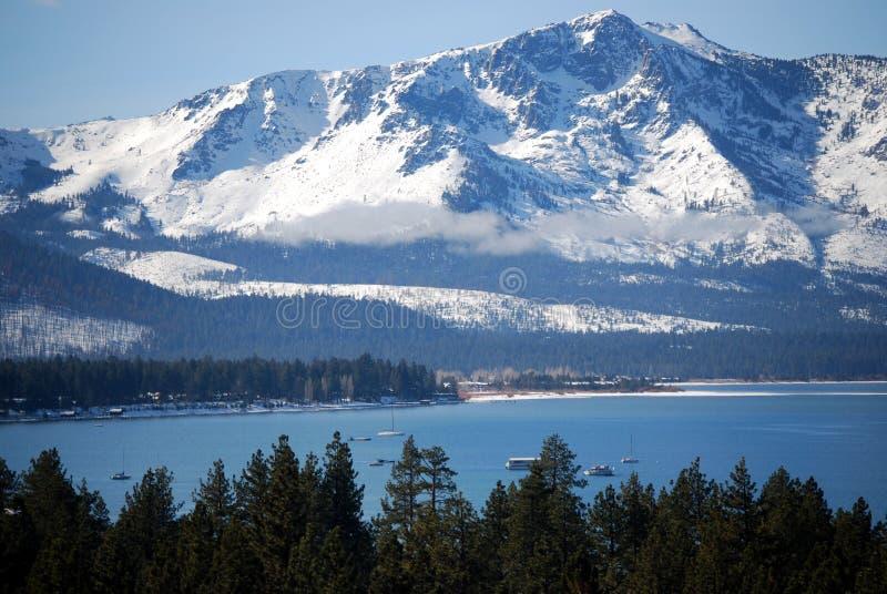Siërra bij Meer Tahoe royalty-vrije stock foto's