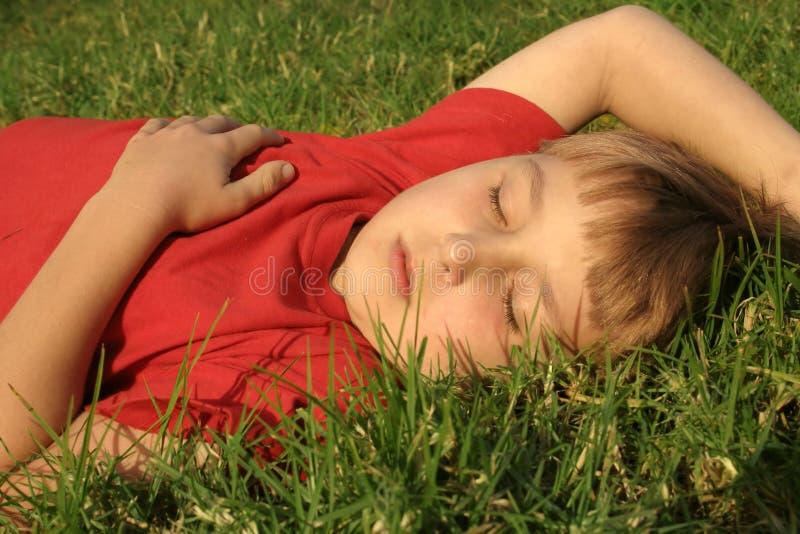 Download Siësta stock foto. Afbeelding bestaande uit park, kids, slaap - 30654