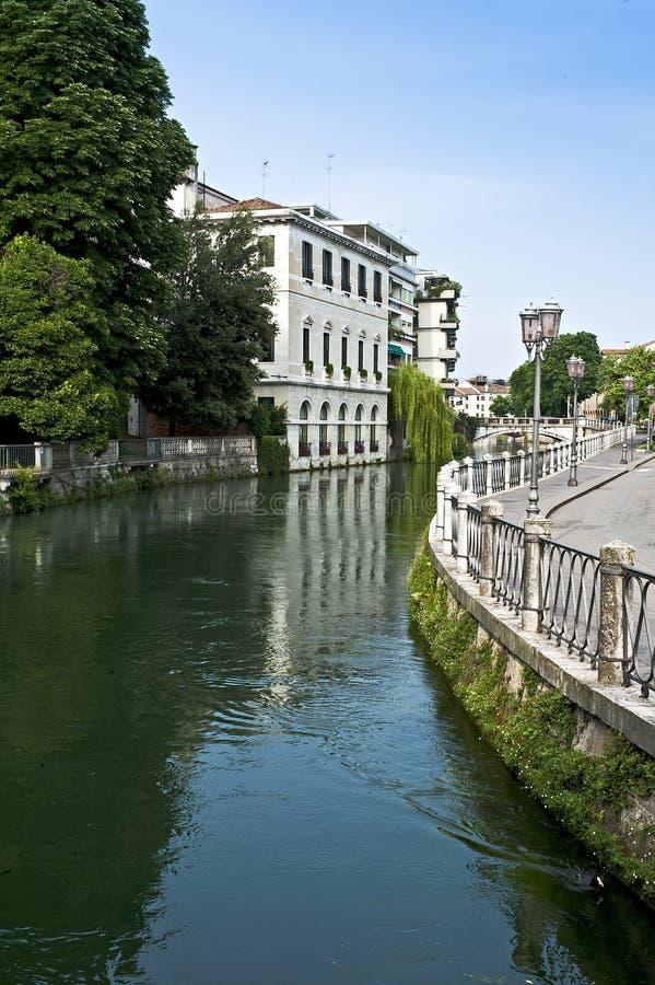 Siła rzeka w Treviso Veneto okręg, Włochy fotografia stock