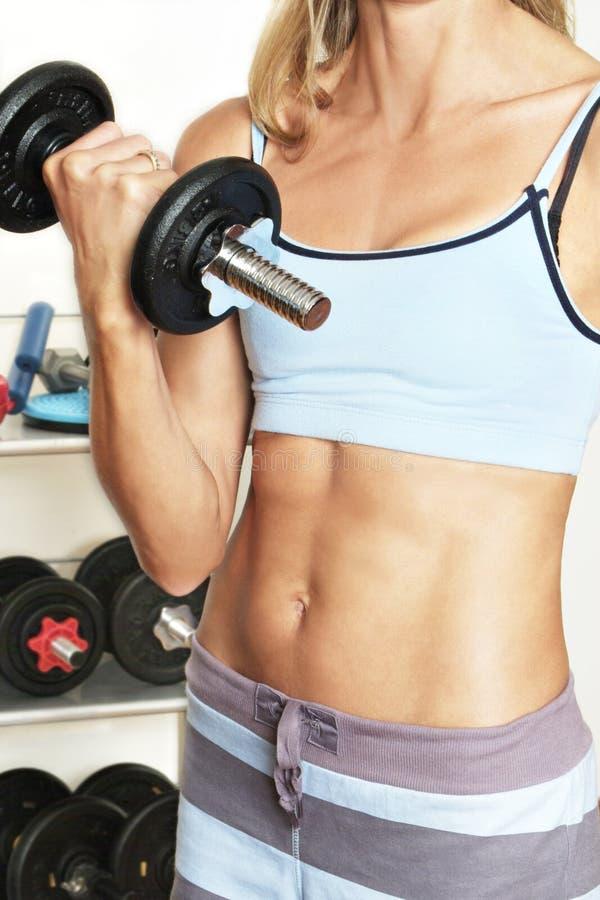 siłownia dziewczyny zdjęcia stock