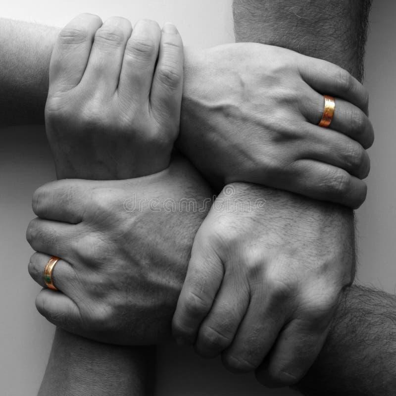 siły jedności. obrazy stock