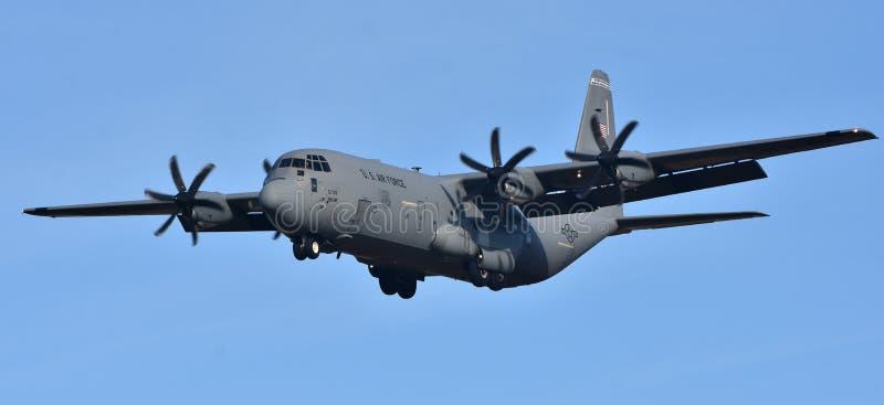 Siły Powietrzne C-130 Hercules zdjęcie royalty free