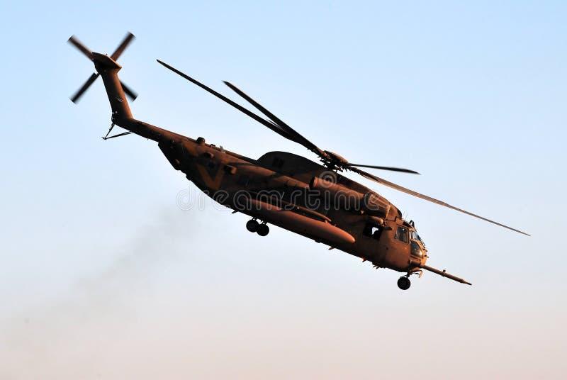 siły powietrzne helikopteru izraelita obraz royalty free