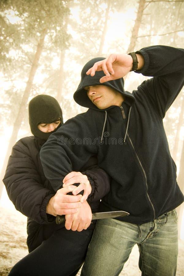 siły specjalne szkolenie obrazy stock