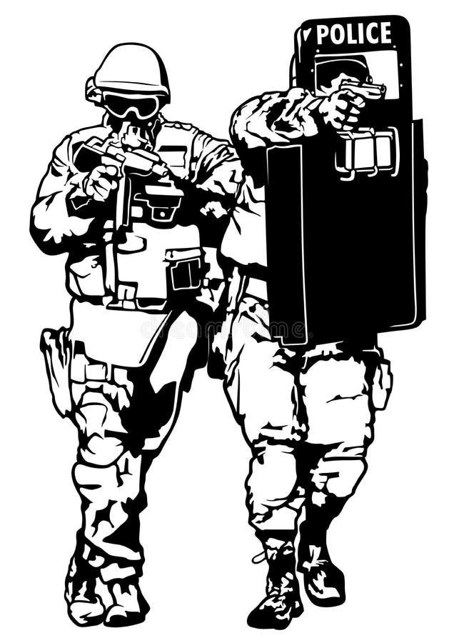 siły utrzymują porządek dodatek specjalny ilustracji