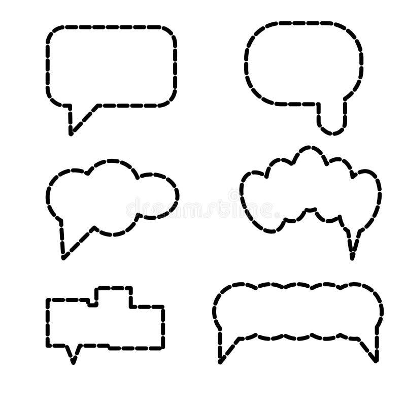 Si appanna la linea icona di arte Concetto dell'elemento, delle basi di dati, della rete, del software di immagine, della nuvola  illustrazione di stock