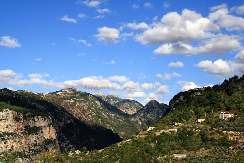 Si rannuvola le montagne immagini stock libere da diritti