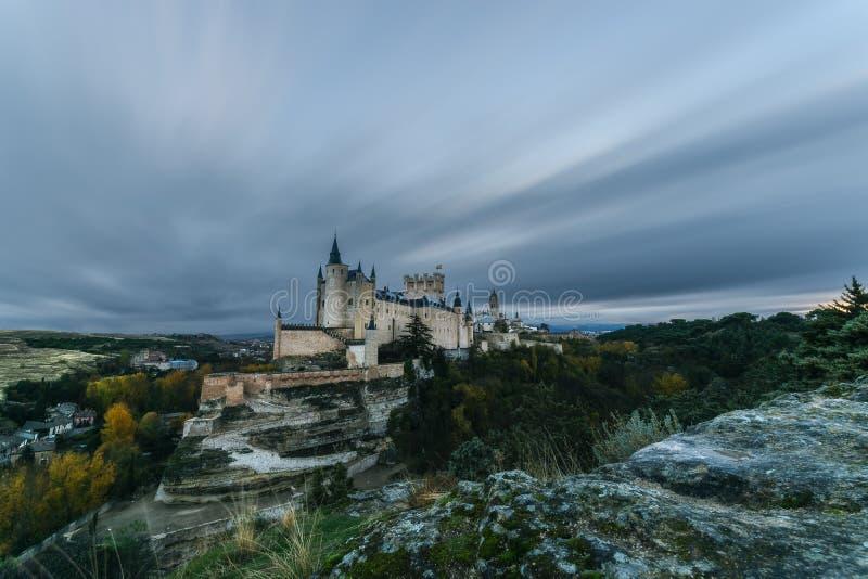 Si rannuvola Segovia fotografia stock libera da diritti