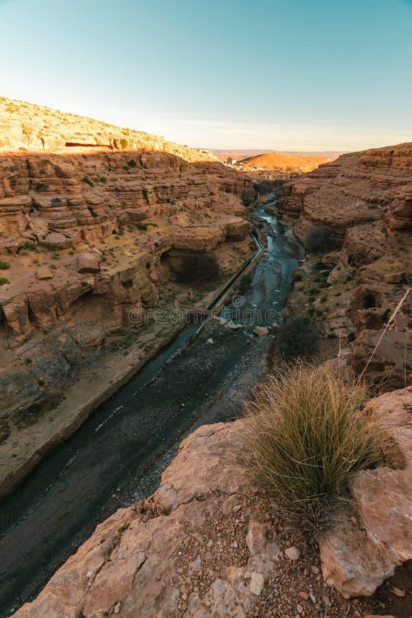 Si rimpinza del DES Berrem, Midelt, Marocco fotografie stock libere da diritti