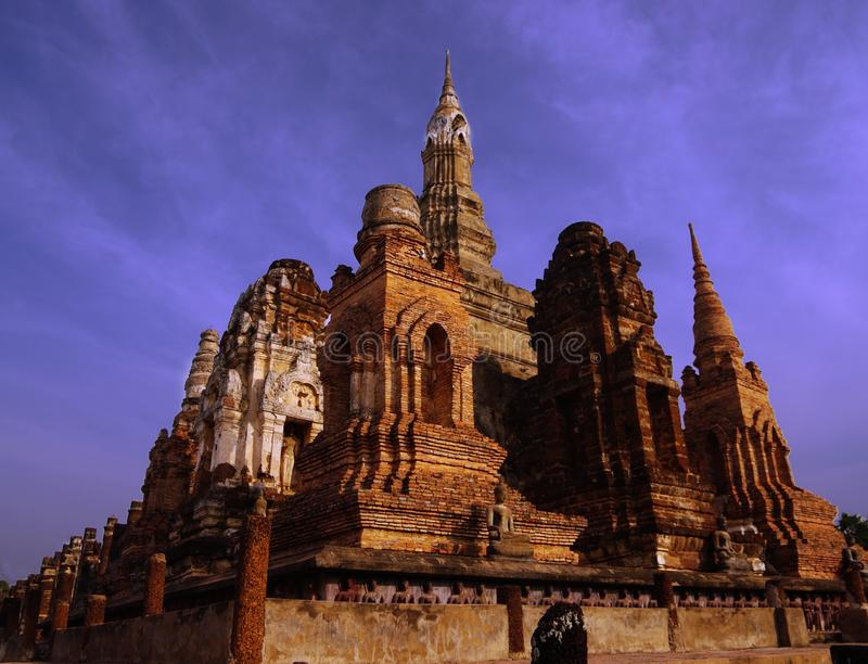 Download Si Satchanalai stock image. Image of temple, unesco, buddhism - 12408831