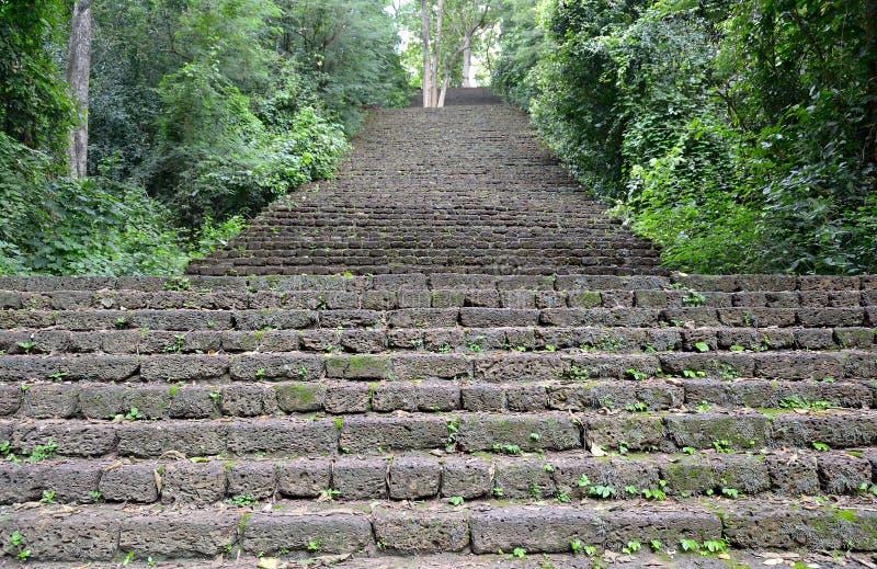 Si Satchanalai Chaliang Dziejowy park obrazy royalty free