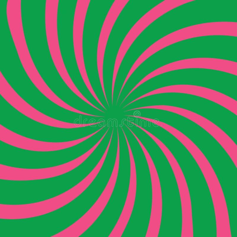 Si sviluppa a spiraleare il reticolo fotografie stock