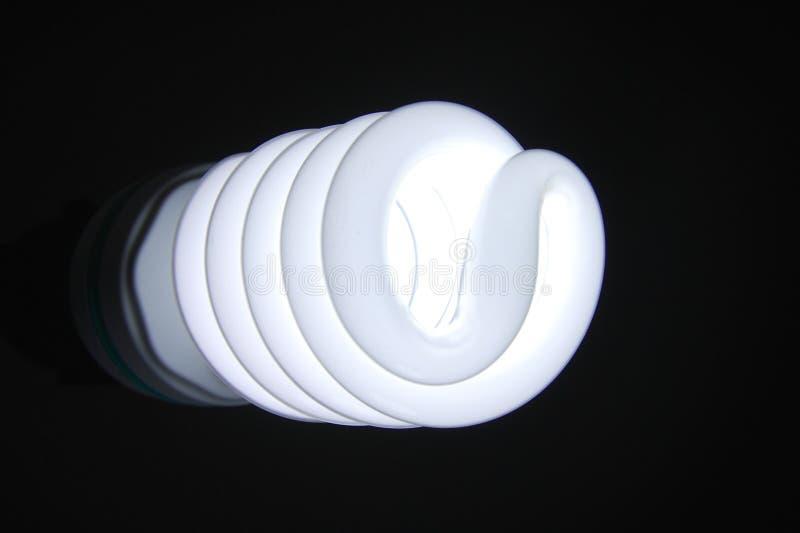Si sviluppa a spiraleare la lampada fotografia stock