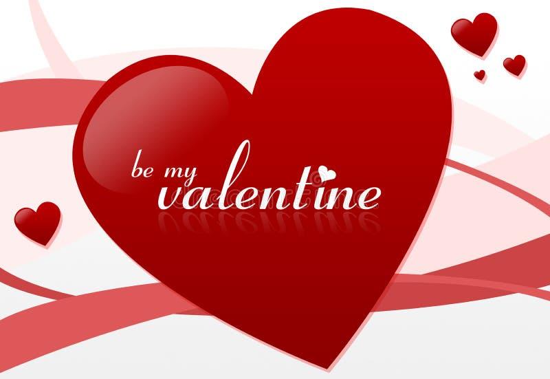 Sia il mio biglietto di S. Valentino #2 royalty illustrazione gratis
