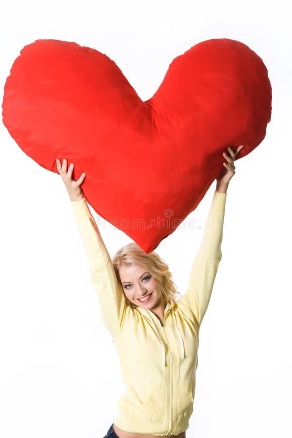 Sia il mio biglietto di S. Valentino! fotografie stock libere da diritti