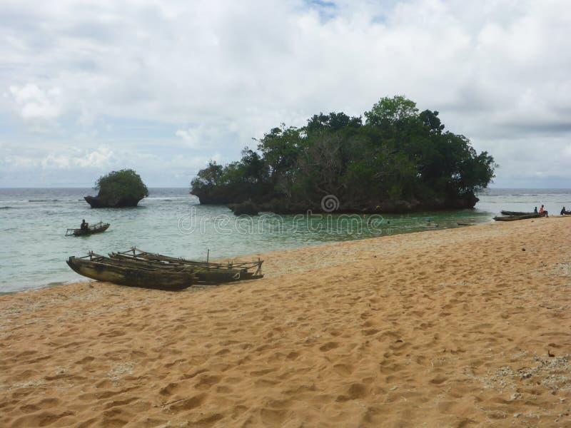 Sia Island Papua New Guinea stockbild