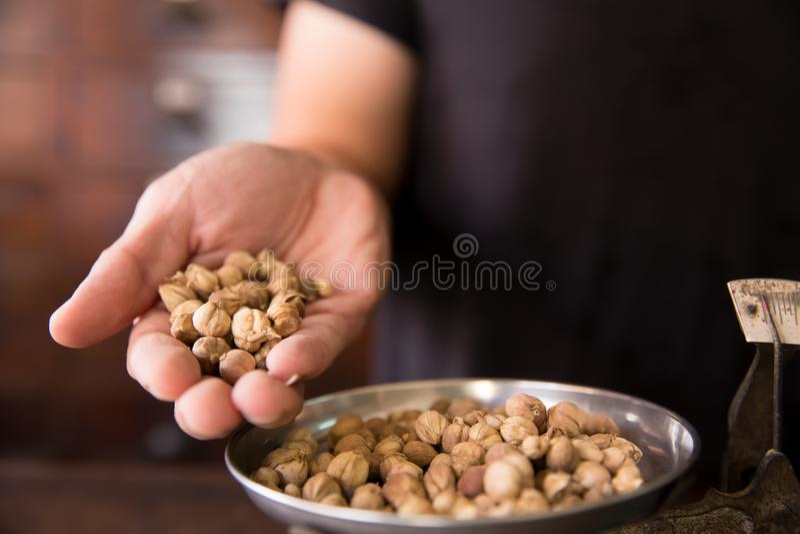 Siam Cardamom Seed herbal royalty free stock photography