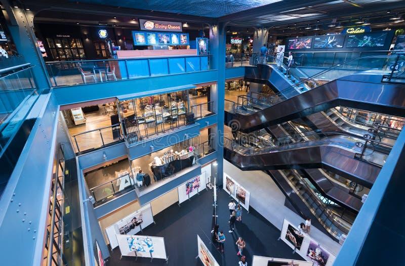 Siam Center interior, Bangkok, Thailand royalty free stock photos