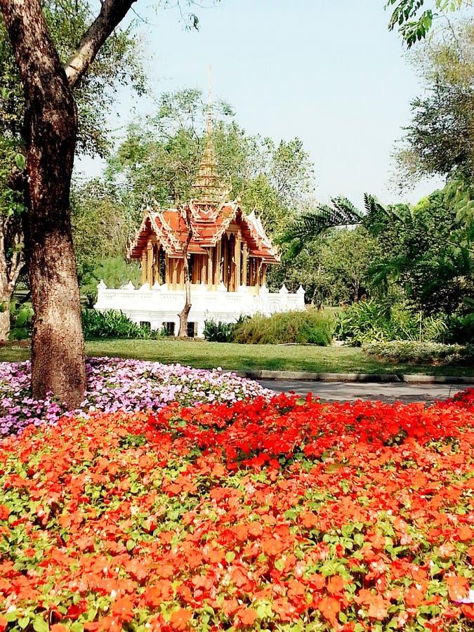 Siam Hall, parco di Rama IX, Bangkok fotografie stock