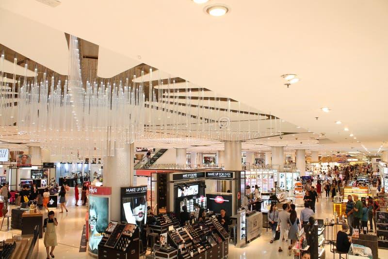 Siam Paragon Shopping Mall lizenzfreies stockfoto