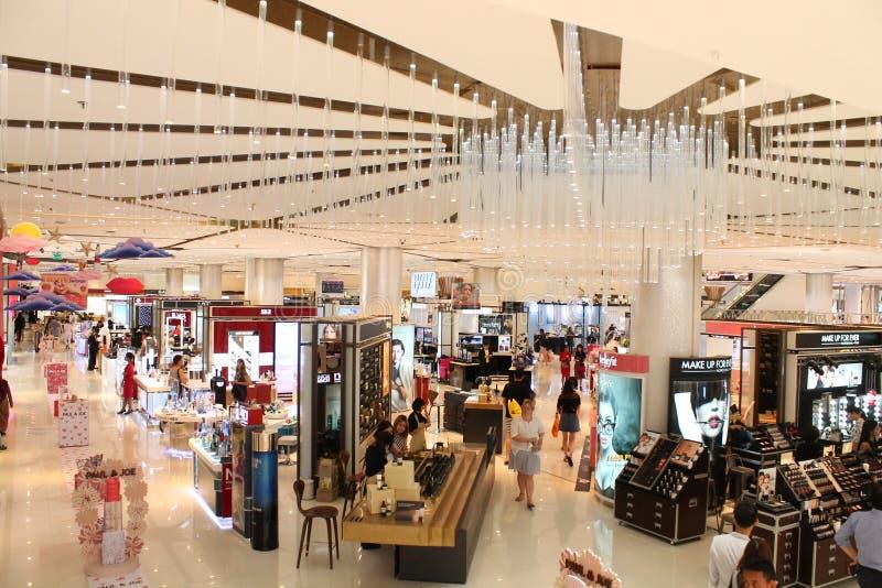 Siam Paragon Shopping Mall lizenzfreie stockbilder