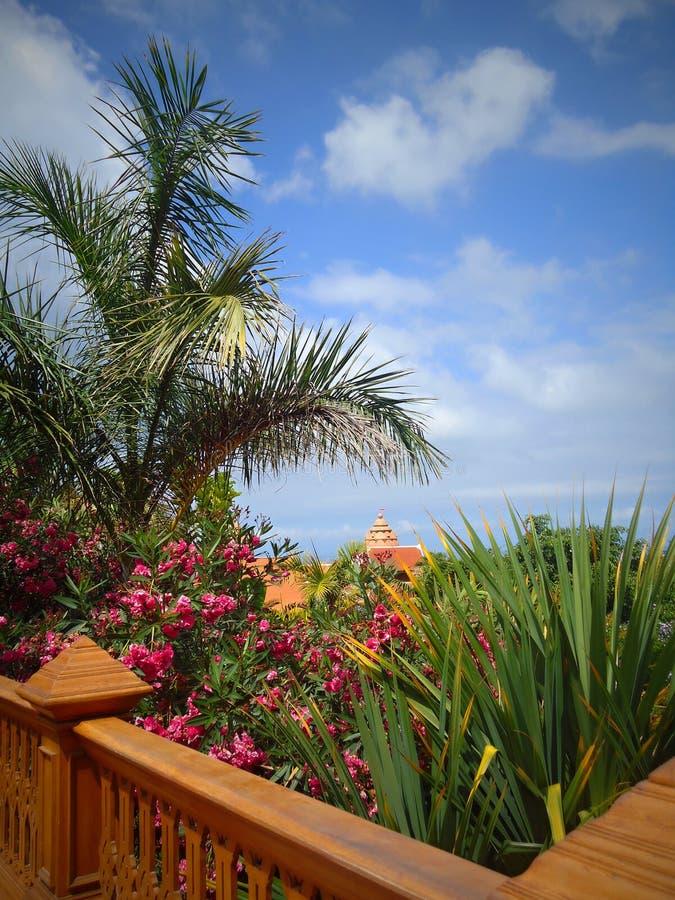 Siam Park é a atração a maior do parque da água em Tenerife foto de stock royalty free