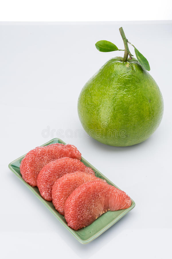 Siam Ruby Pomelo Fruit photographie stock