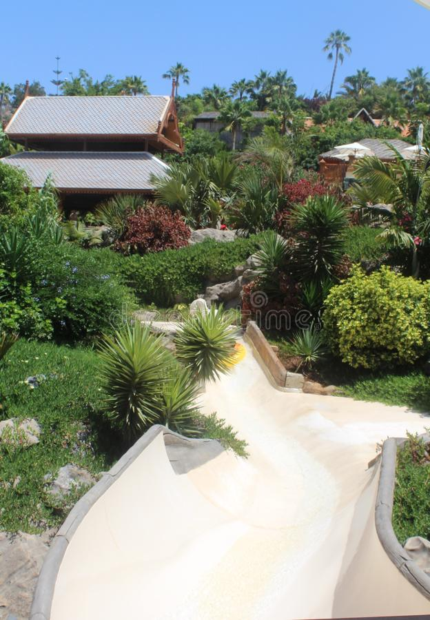 Siam Water Park Tenerife image libre de droits
