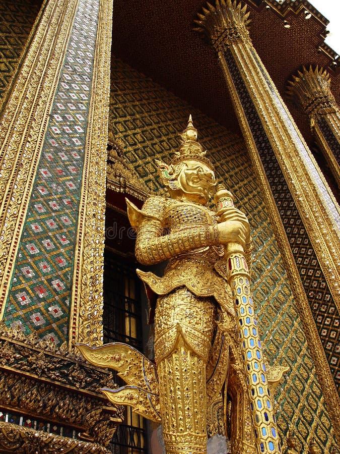 Download Siamese statue stock photo. Image of guard, creature, gold - 5741896