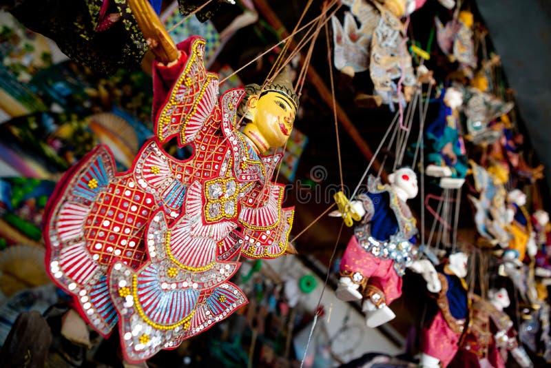 Siamesische Marionetten stockfoto